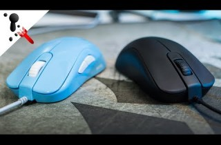 Zowie S2 and S1 Black Update and quick comparison